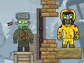 Intézd el a kiképzett katonával a szibériai területeken a fertőzött zombikat: célozz ügyesen, és lődd ki az összes zöld figurát a pályákon