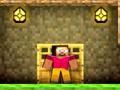 Szerezd meg a MineCraft-szerű világban játszódó játék pályáinaz összes drágakövet, majd ezután juss el a kijáratig