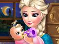 Elsa Frozen Baby Feeding